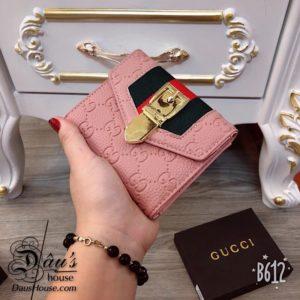 Vi cam tay ngan Gucci Hong - G024 (1)
